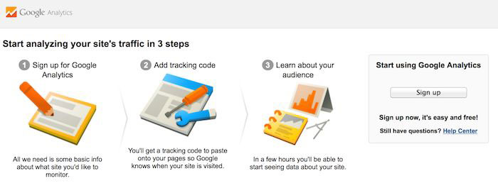 Google Analytics Step 01