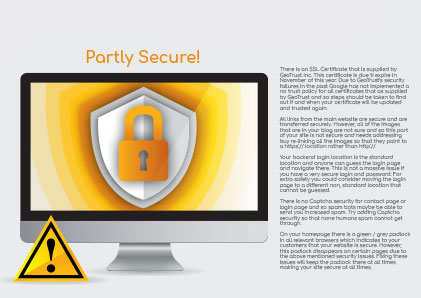 5. Security - Is your website completely secure?