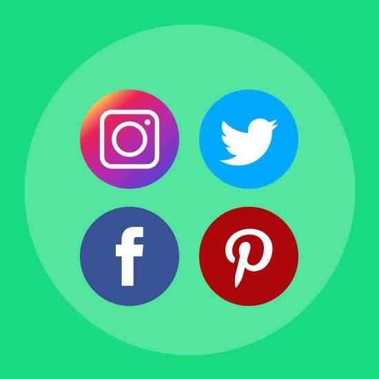Graphic image representing No Social Media