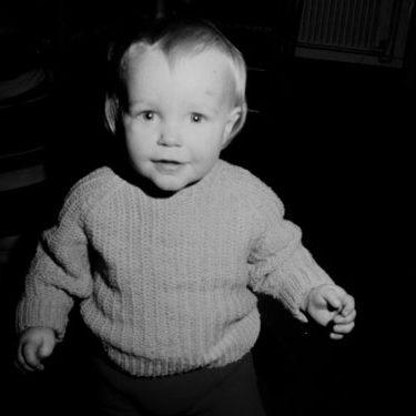 Colin Treanor as a baby